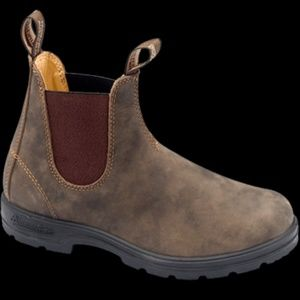 Blundstone 585 Rustic Brown Leather Chelsea Boots